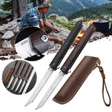 M390 Steel Folding Knife Multi EDC Long Tools Tactical Pocket Knife Camping Picnic Hunting