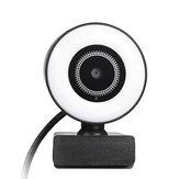 720p / 1080p Mini Beauty Computer Webcam med mikrofon USB High Definition Camera Web til pc bærbare forsyninger