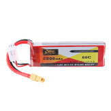ZOP Power 7.4V 2200mAh 60C 2S Lipo Батарея XT60 Разъем для RC Дрон