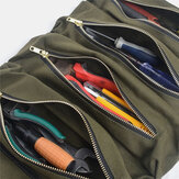 Multi-functional Canvas Suspension Car Storage Bag Tool Bag Portable Storage Bag For Car Kit