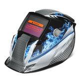 Solar Auto Oscurecimiento Soldadura Casco Soldador Mascara Escudo protector de molienda