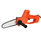 8 Inch Cordless Electric Chain Saw Multifunctional Wood Cutting Tool For Makita 18V Battery