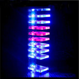 Dioda LED Dream Crystal Electronic Column Light Cube LED Voice Spectrum Kit