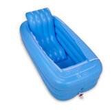 165x85x45cm Bathtub Inflatable Tub Portable Travel Bath Adult Spa Pool Warm Bathtub Folding