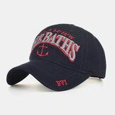 Mektup Çapa Nakış Beyzbol Şapkası Sun Şapka