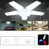 E27 5+1/3+1 Blades LED Bulb Foldable Adjustable Garage Lamp Deformable Ceiling Light Fixture AC85-265V/220V