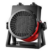220V 2000W portátil elétrico infravermelho espaço pátio Aquecedor ajustável externo
