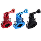 PULUZ PU223 Fiets Aluminium Handlebar Adapter Mount Stand Holder voor Action Sport Camera
