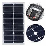 Elfeland® SS-20W 12 V Mono Painel Solar Semi-flexível Com Chip Sunpower Para Bateria Charger Boats Cara