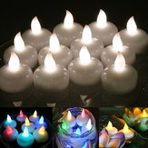 12pcs Flameless LED Table Lamp Candle Light Battery Operated Waterproof Wedding Party Decor