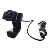 Webcam 1080P USB Video Gamer Camera PC Full HD Web Cam Built-in Microphone for Youtube Web Camera