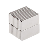 20pcs N50 20x10x2mm Neodymium Block Magnet Oblong Super Strong Rare Earth Magnets