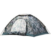 3-4 People Waterproof Tent Round Door Camping HikingTent Outdoor Sleeping Supplies