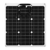 120W 18V Monocristalino Altamente flexible Solar Panel de azulejos mono panel Impermeable
