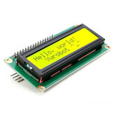 IIC/I2C 1602 Yellow Green Backlight LCD Display Module Geekcreit for Arduino - products that work with official Arduino boards