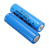 2Pcs Elfeland 18650 3000mAh 3.7V Rechargeable Li-ion Battery