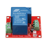 BESTEP 5V 30A 250V 1 Channel Relay High Level Drive Relay Module Normally Open Type