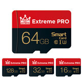 Extreme Pro High Speed 16GB 32GGB 64GB 128GB Classe 10 TF Memory Card Flash Drive com adaptador de cartão para iPhone 12 para Samsung Galaxy S21 Smartphone Tablet Switch Alto-falante Drone Car DVR GPS Câmera