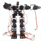 DIY 17DOF RC Dancing Robot Kit de robot de carrera para caminar educativo