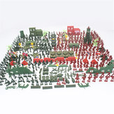 330pcs Military Plastic Model Playset Toy Soldiers Figures & Accessories Kid Toys