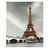1 Peça Torre Eiffel Pintura Decorativa Da Parede Da Lona Impressão de Arte Fotos Sem Moldura Pendurado Na Parede Decorações para Escritório Em Casa