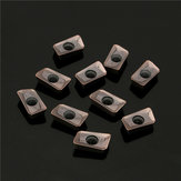 10pcs ZCC.CT APKT11T308-PM Tungsten Steel Turning Tool Holder Inserts Steel Milling Inserts