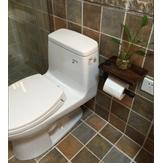Retro Endüstriyel Stil Tuvalet Kağıt Tutacağı, Sundries Standı