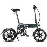 [Diretto UE] FIIDO D2S Versione cambio 36V 7.8 Ah 250 W 16 pollici Bicicletta ciclomotore pieghevole 25 km / h Bici elettrica chilometraggio max 50 km
