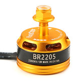 Racerstar Racing Edition 2205 BR2205 2300KV 2-4S Motor Brushless Amarelo Para 220 250 280 RC Drone FPV Racing