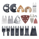 66Pcs Quick Release Oscillating Saw Blade in Electric Multi-tools Precision BIM Saw Blades Accessories for Metal PVC Wood