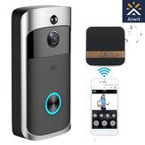 Bezprzewodowa kamera Wideodomofon Bezpieczeństwo w domu WiFi Smartphone Remote Video Wodoodporny .
