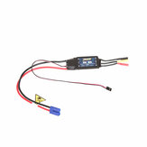 FMS Predator 80A Brushless ESC Electronic Speed Controller EC5 with 4.0mm Banana Plug Upgraded 5V 5A Switch Mode For FPV RC Airplane Spare Part