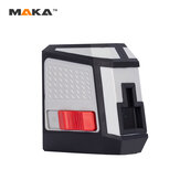 MAKA MK-113P Green/Red Cross Wire Laser Level Self-Leveling Vertical and Horizontal Line