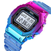 SKMEI 1622 Dazzling Wanita Digital Watch Fashionable Alarm Chronograph Sport Wrist Watch