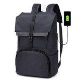 ОксфордБольшаяемкость17дюймовНоутбук Сумка Зарядка USB Сумка