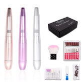 Pink / Gold / Silver Electric Mini Polishing Pen With Ceramic Head Pen-type Peeling And Removing Nail Polishing Machine