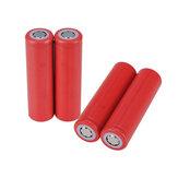 4pcs Sanyo 3.7v 2600mAh ur18650zy bateria recarregável 18650