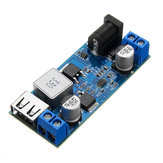 LM2596S DC-DC 24V/12V To 5V 5A Step Down Power Supply Buck Converter Adjustable USB Step-down Charging Module