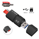 Bakeey Mini USB 3.0 Card Reader High Speed  Micro USB For Micro TF/SD Adapter