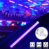 24LED UV Bande Tube Lumière Ultraviolet Bar Club Halloween Fête De Noël Blacklight Lampe Portable AC85-265V