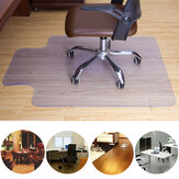 Clear PVC Floor Mat Home Office Rolling Chair Floor Carpet Protector Anti Scratch PVC Transparent Chair Mat