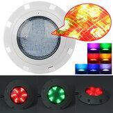 AC12V 72W 7 colori RGB LED Illuminazione per piscina subacquea lampada + remoto Controllo