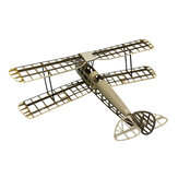 Tiger Moth 1000mm Wingspan Balsa Wood Laser Cut Retro Biplane Training RC Airplane KIT for Trainer Beginner