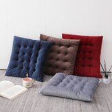 40x40cm Seat Cushion Mat Pad Cotton Square Velvet Thicker Office Sofa Floor