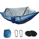 1-2 Persone campeggio Amaca con zanzariera Letto sospeso leggero Viaggio in spiaggia Carico massimo 300 kg