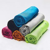 Giavnvay Cool Feeling Towel Strong Water Absorption Quick-Qrying Outdoor Running Sports Towels
