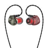 Bakeey S8 4D Stereo Hi-Fi 3,5 мм с проводным управлением Heavy Bass In-ear Sport Наушник с микрофоном
