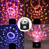LED Stage Lamp Magic Effect Lamp USB Stage Light Disco Ball Light Party Lamp Colorful for KTV Party Supplies