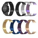 Bakeey Universal 22mm Mesh Steel Watch حزام لـ Amazfit Huawei Fossil Garmin Ticwatch Xiaomi اللون ذكي Watch غير أصلية