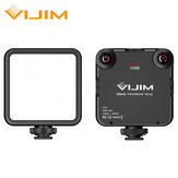VIJIM VL81 3200k-5600K 850LM 6,5 W Dimmerabile Mini Vlog portatile Luce di riempimento LED Luce video con pattino freddo 3000mAh incorporato Batteria